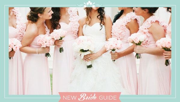 Answers to Commonly asked Bridal Party Questions